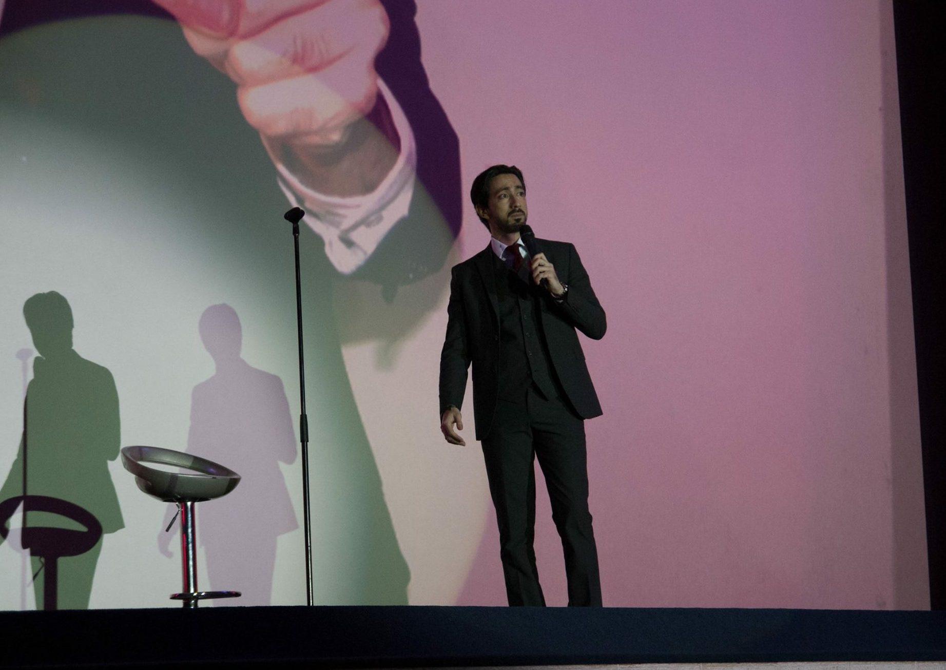 Javier Medina en Festival Internacional de Stand Up Comedy. San Jose Costa Rica 2016