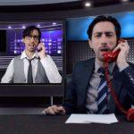 Comediante Javier Medina de Stand Up Comedy Costa Rica en el programa Políticas de la Empresa en Youtube