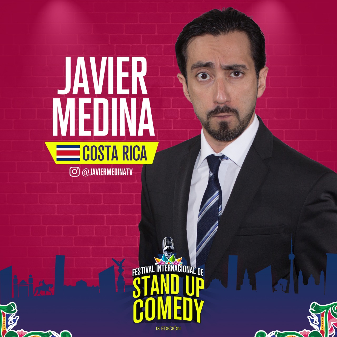 Javier Medina Festival Internacional Stand Up Comedy 2019