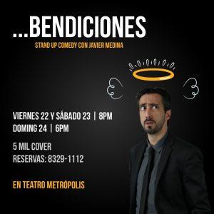 Bendiciones. Comedia con Javier Medina en Teatro Metropolis