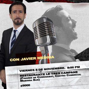 Stand Up comedy con Javier Medina en Le Tre Campane