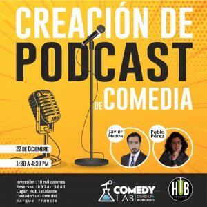 Taller De Podcasting Comedia con Javier Medina