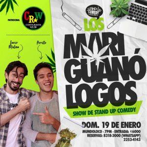 Los Mariguanologogos en Mundoloco 19 Enero